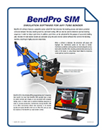 BendPro SIM Software Brochure