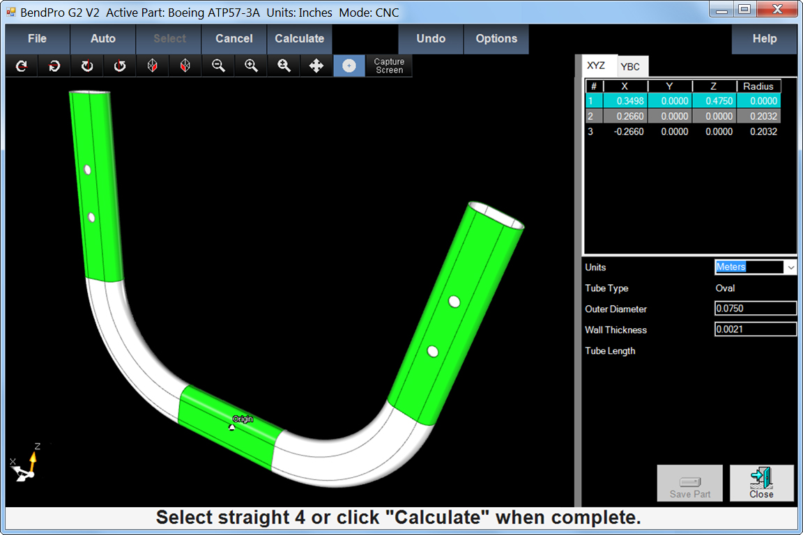 CAD Interface Software Tube Part importing holes slots