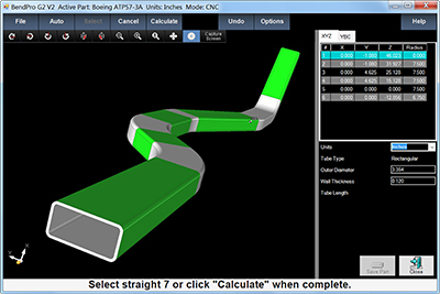 CAD Interface Software Tube Part Importing