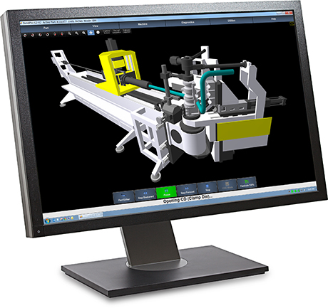 BendPro SIM Software 3D Simulation models